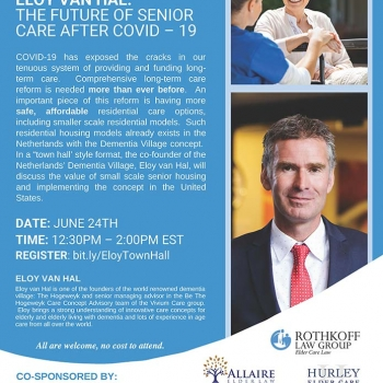 The Future of Senior Care After Covid-19