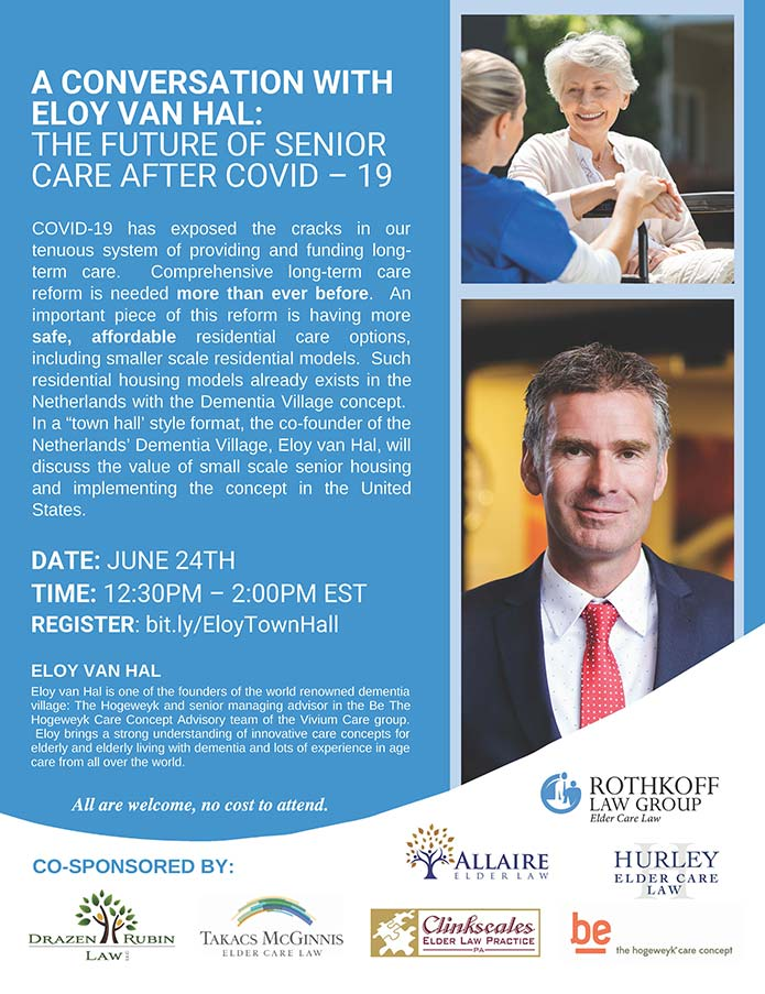 THE FUTURE OF SENIOR CARE AFTER COVID – 19