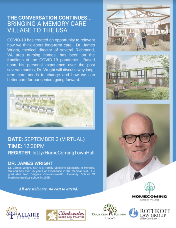The Conversation Continues with Jim Wright: Bringing a Memory Care Village to the USA